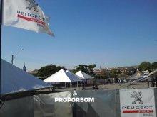 Peugeot Sport Brasil (tendas, Gradil e Sonorização)